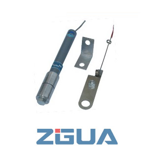 High-voltage fuse for the electric condenser protection