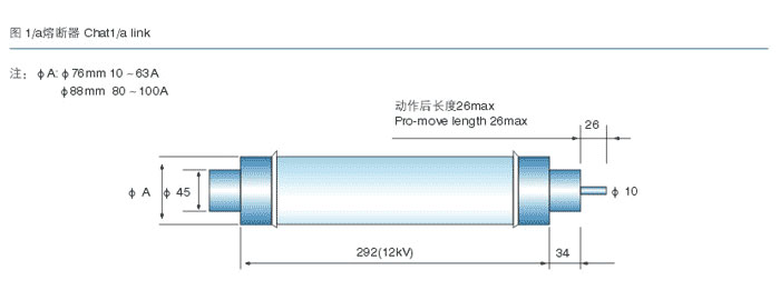 high voltage fuse manufacturer introduction_high voltage fuse drawing